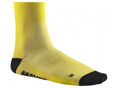 MAVIC ESSENTIAL MID SOCKS Mavic Yellow