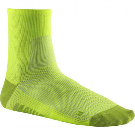 detail MAVIC ESSENTIAL MID SOCKS Safety Yellow