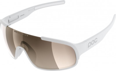 POC CRAVE Hydrogen White Brown/Silver Mirror