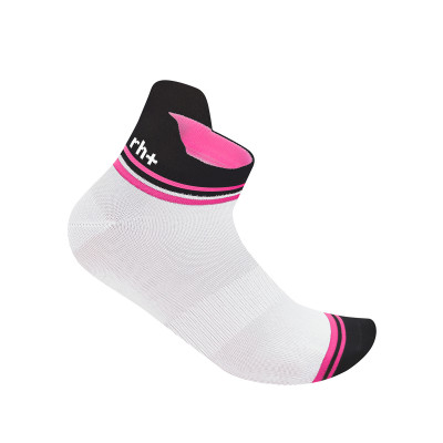RH+ Flux W Sock white-deep pink ECX9572-048