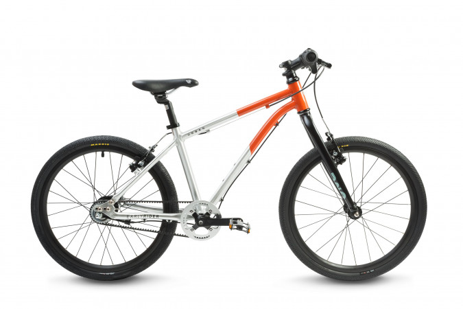 detail EARLY RIDER HELLION URBAN 20 3-GANG Brushed Aluminum/Red