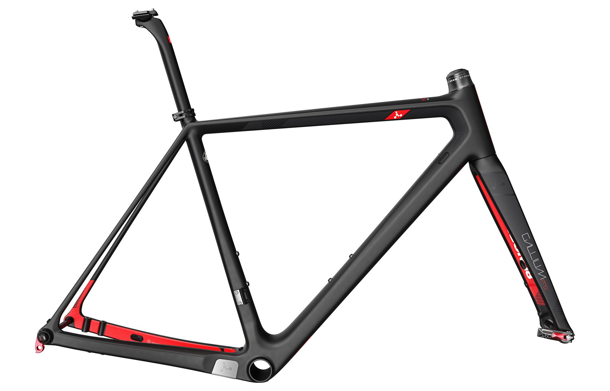 detail ARGON 18 GALLIUM PRO DISC RÁMOVÁ SADA 2019 Black/Grey Matte