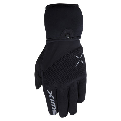 SWIX ATLASX GLOVE-MITTENS Black H0971-10000