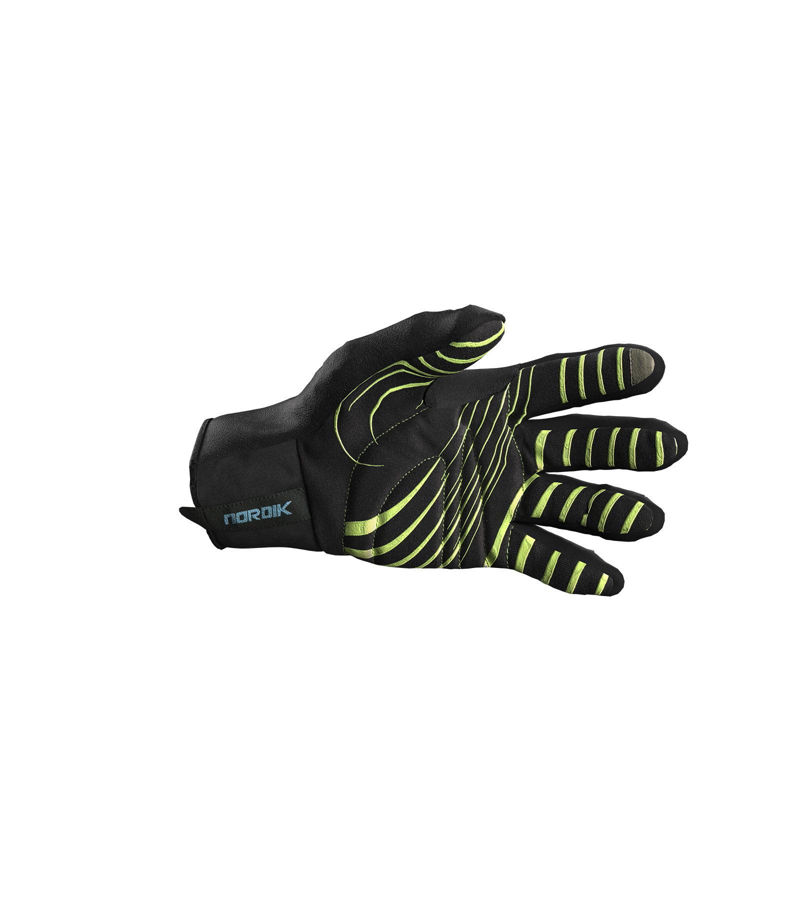ALÉ ACCESSORI NORDIK gloves – black L05540115