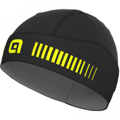 ALÉ KLIMA HEAD COVER – Black/Yellow Fluo