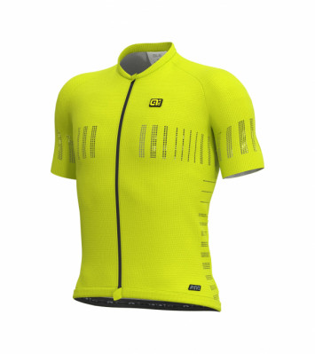 ALÉ COOLING JERSEY Fluo Yellow L13246019