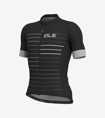 ALÉ SOLID ERGO JERSEY Black/Grey