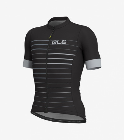 detail ALÉ SOLID ERGO JERSEY Black/Grey