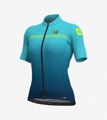 ALÉ PRS FADE LADY JERSEY Petrol/Turquoise