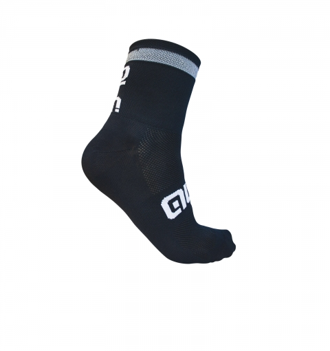 ALÉ REFLEX SOCKS – black/white L17740116