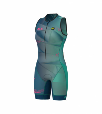detail ALÉ HAWAI LONG TRI LADY SKINSUIT Emerald L20110505