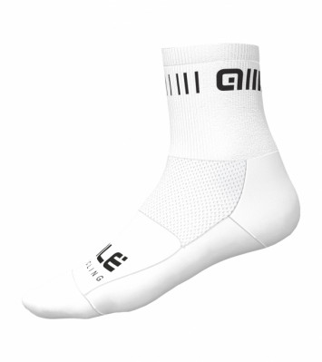 ALÉ STRADA Q-SKIN SOCKS White/Black