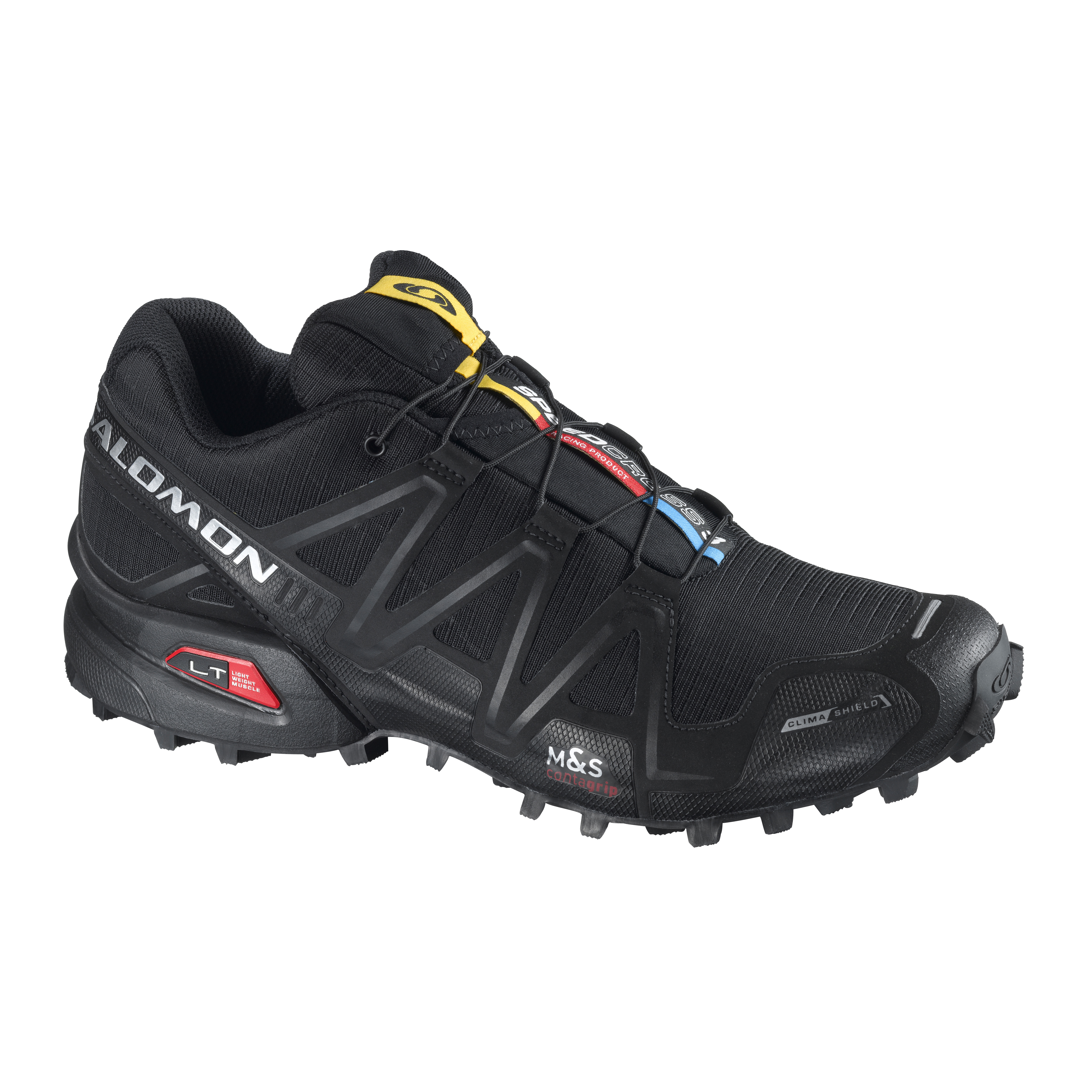 SALOMON SPEEDCROSS 3 GTX YELLOW GOLD/RD/BLACK