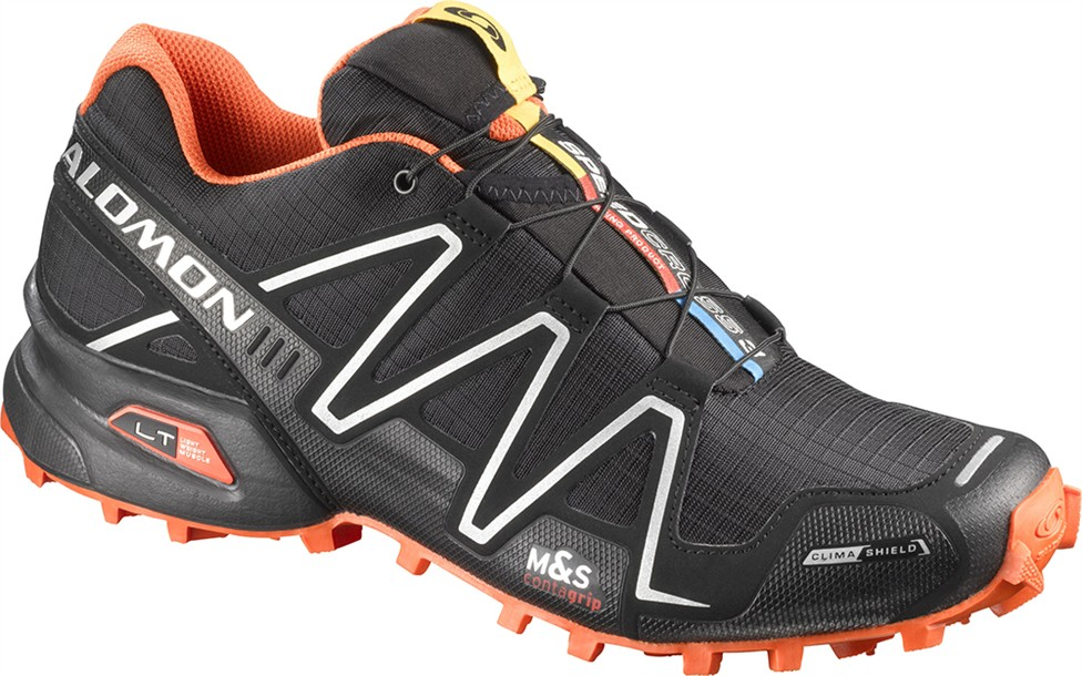 SALOMON SPEEDCROSS 3 CS Black/black /orange