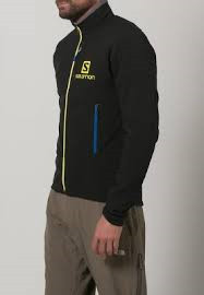 SALOMON MOMENTUM SOFTSHELL JACKET M BLACK