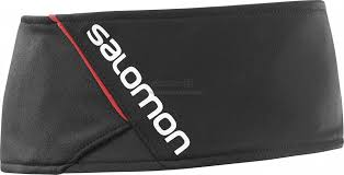 SALOMON RS HEADBAND Black/Black/White
