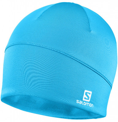 SALOMON ACTIVE BEANIE Transcend Blue