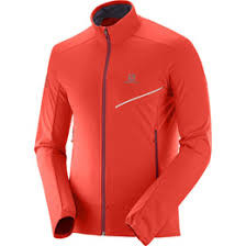 SALOMON RS SOFTSHELL JKT M Fiery Red