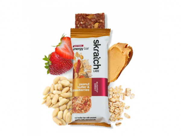 detail SKRATCH LAB ENERGY BAR Maliny, Citron 50g